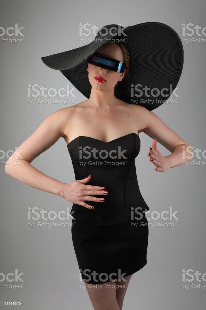 Glamorous Cyborg stock photo