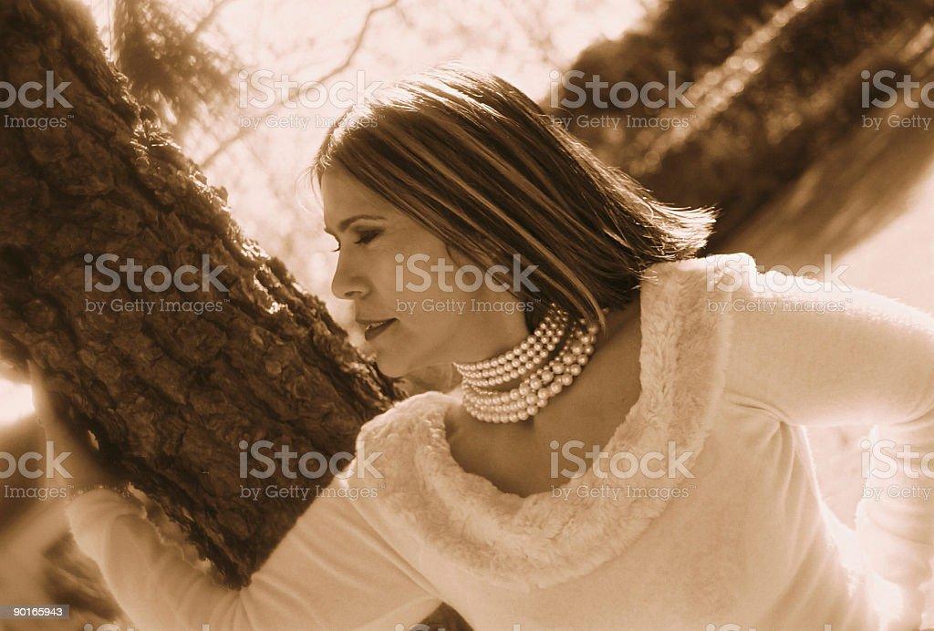 Glamorous latina royalty-free stock photo