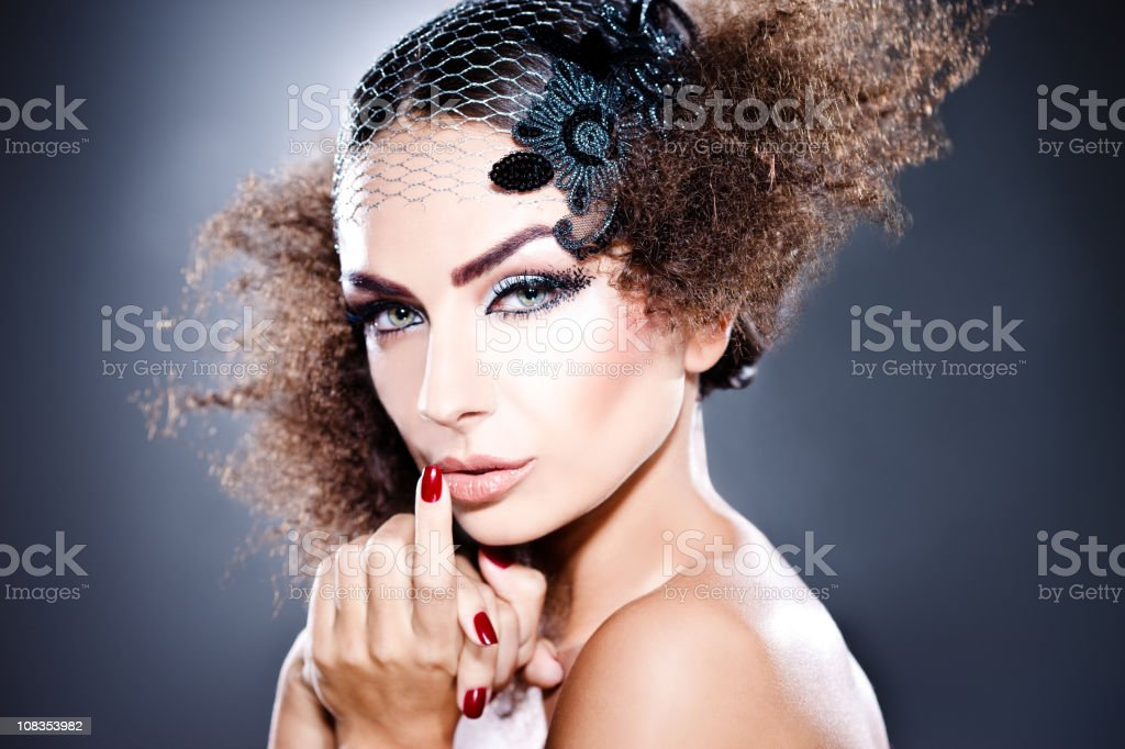Glamorous royalty-free stock photo