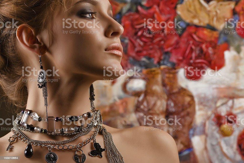 Glamorous. royalty-free stock photo