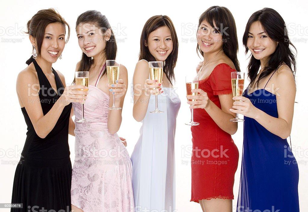 Glamorous #9 royalty-free stock photo