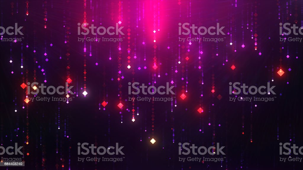 Glamorous shining glowing dots are a good background for nightclubs and bars Loop stock photo