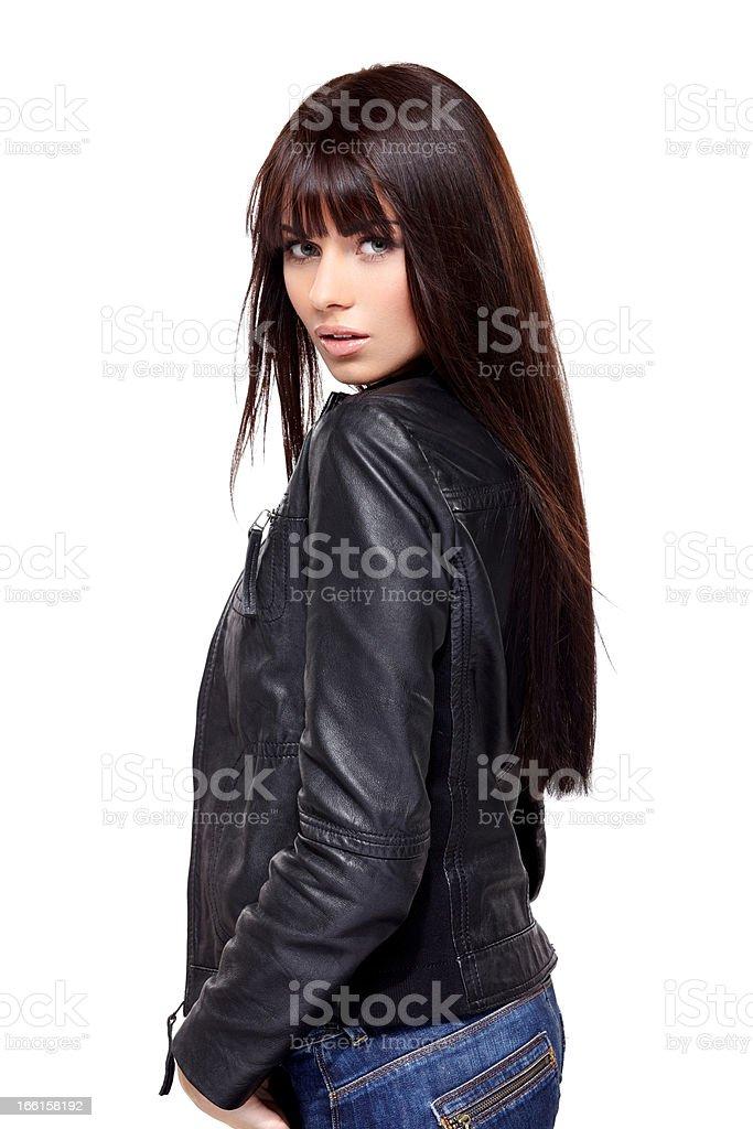 Glamorous young woman royalty-free stock photo