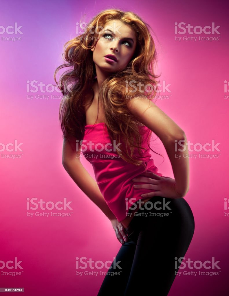 Glamour beauty royalty-free stock photo