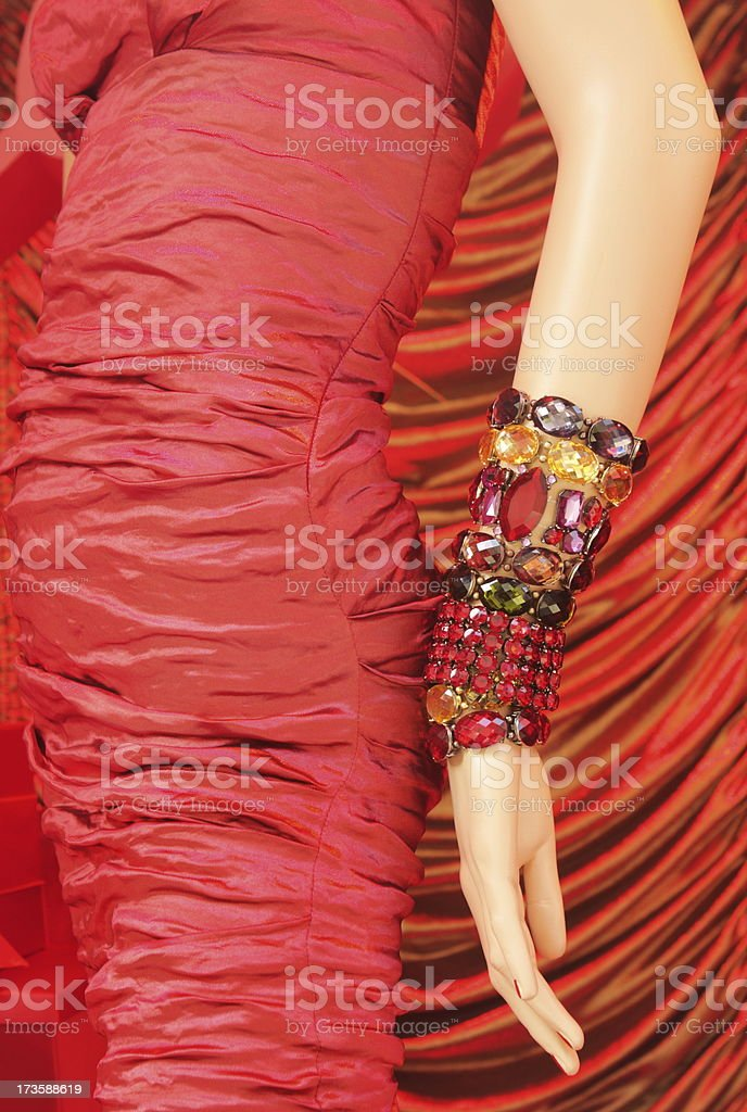Glamour Fashion Dress Costume Jewelry royalty-free stock photo