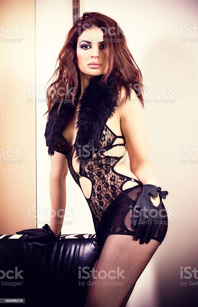 Glamour Fashion Model royalty-free stock photo