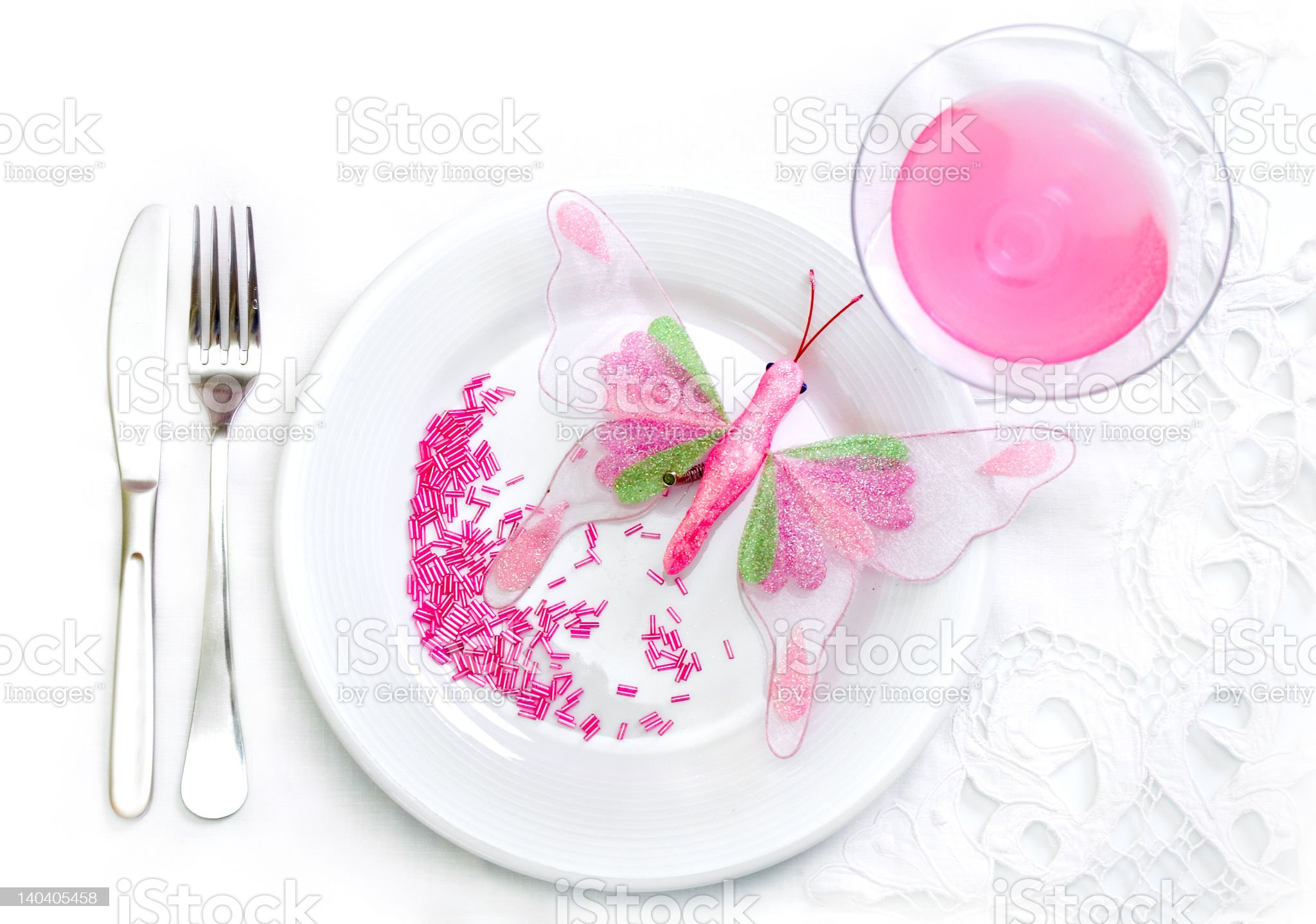 Glamour food concept royalty-free stock photo