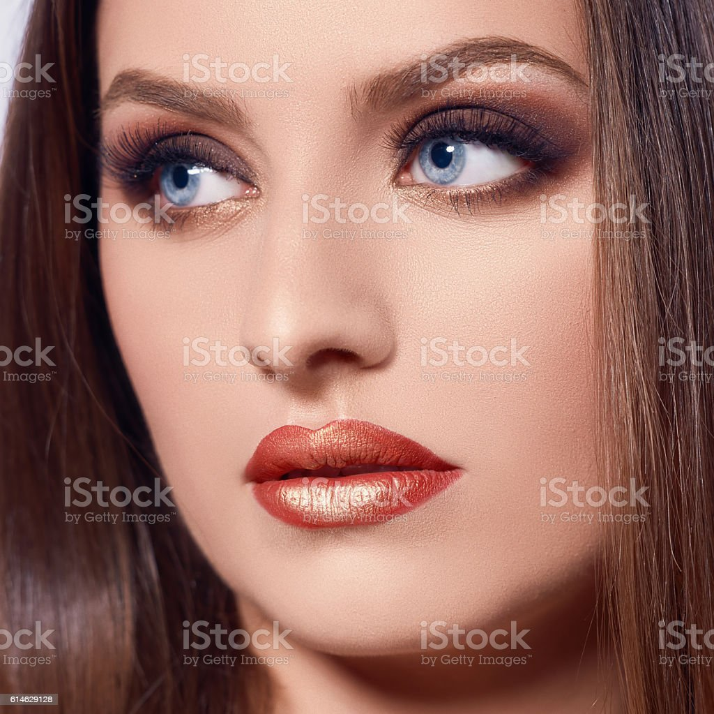 glamour look stock photo