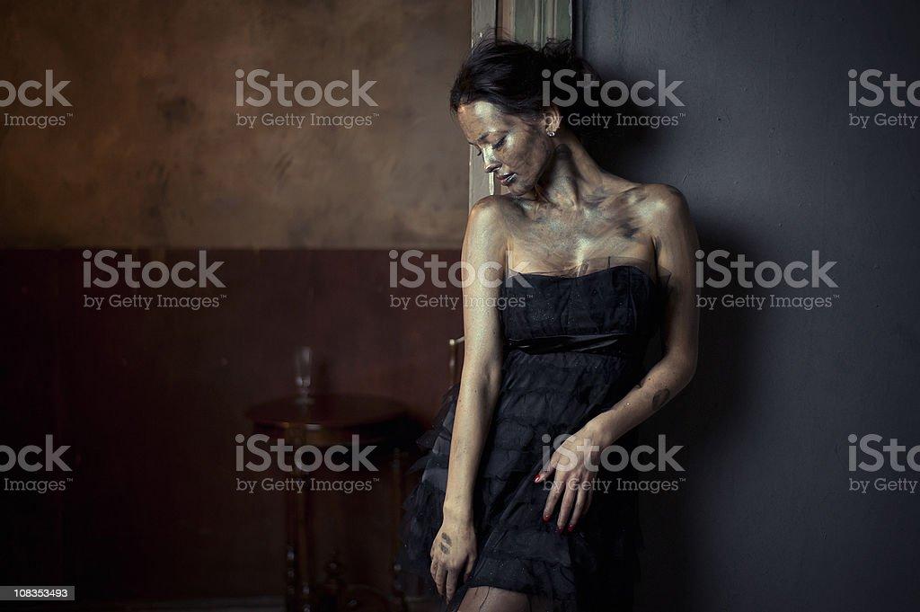 glamour mood stock photo