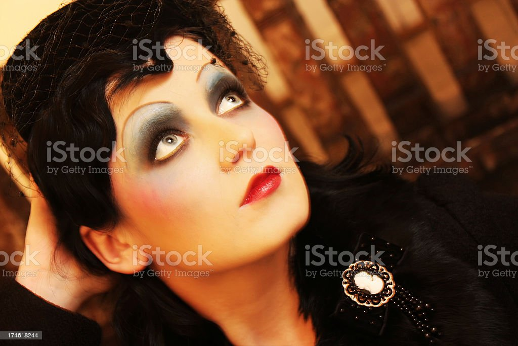 20' glamour royalty-free stock photo
