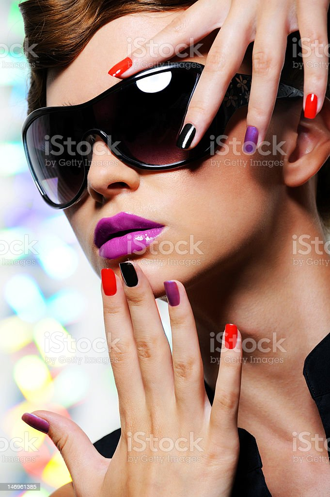 Glamour woman royalty-free stock photo