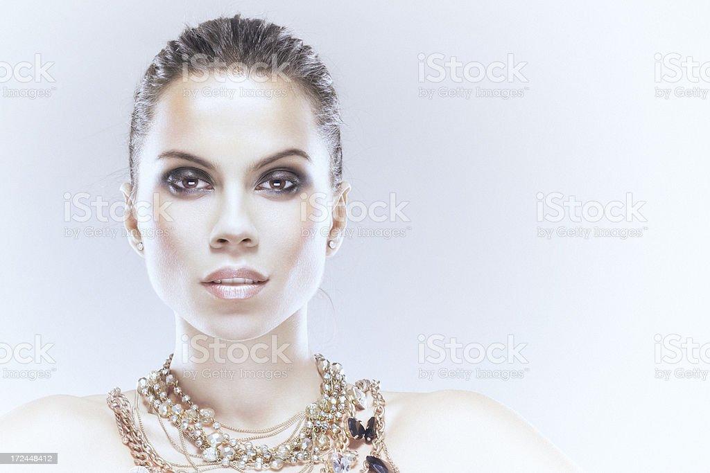 Glamourous beauty royalty-free stock photo