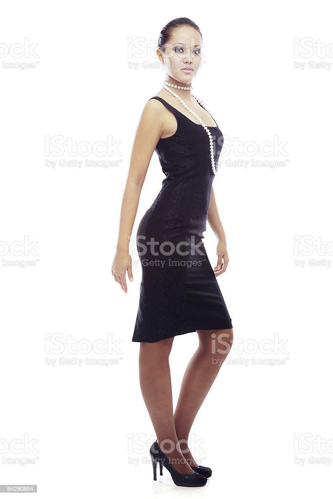 Glamourous fashion royalty-free stock photo