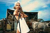Glamourous Milkmaid