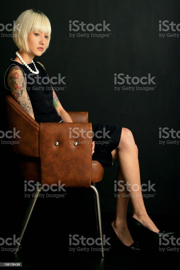 Glamourous royalty-free stock photo