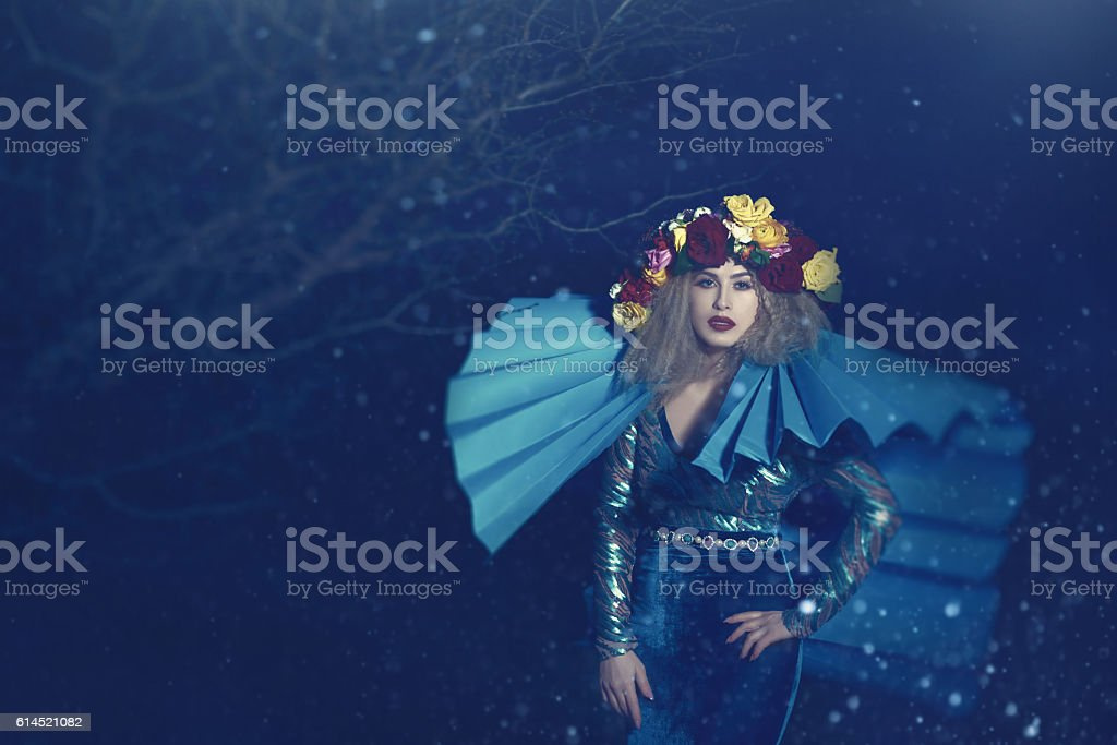 glamourouse woman stock photo