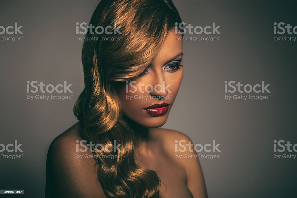 Glamurous Beauty stock photo