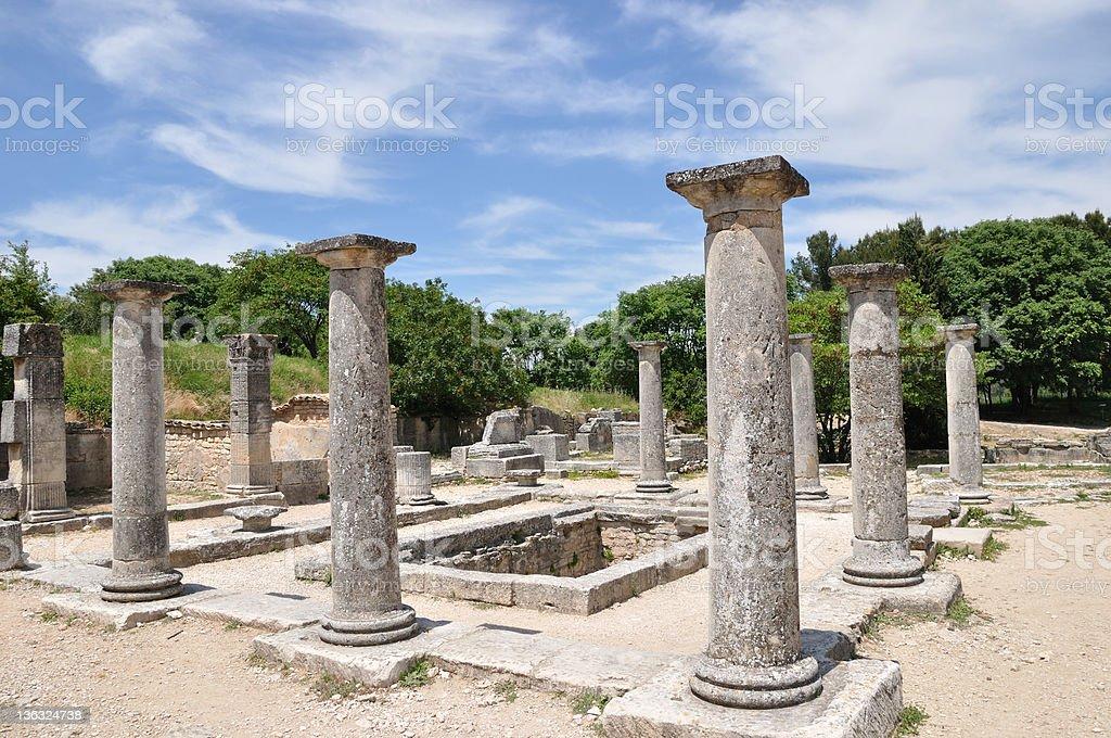 Glanum (Provence, France) stock photo