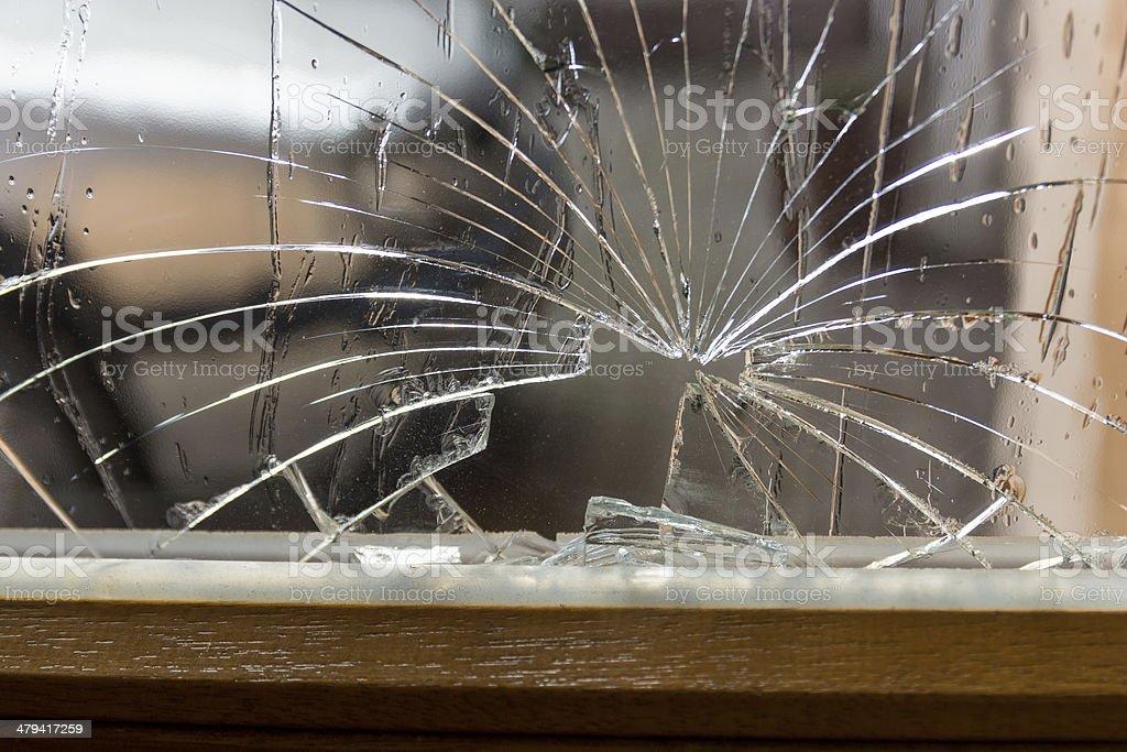 Glasbruch stock photo