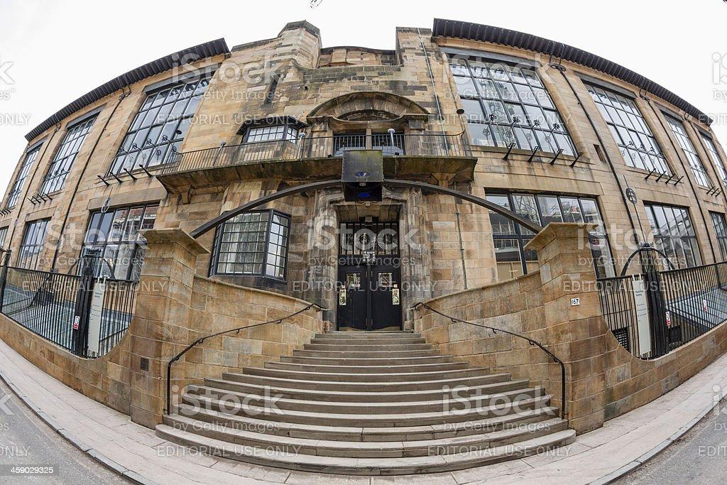 Glasgow Art School royalty-free stock photo