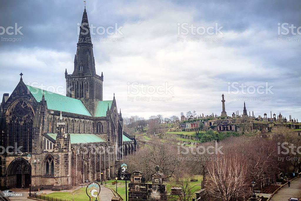Glasgow Cathedral And Necropolis stock photo