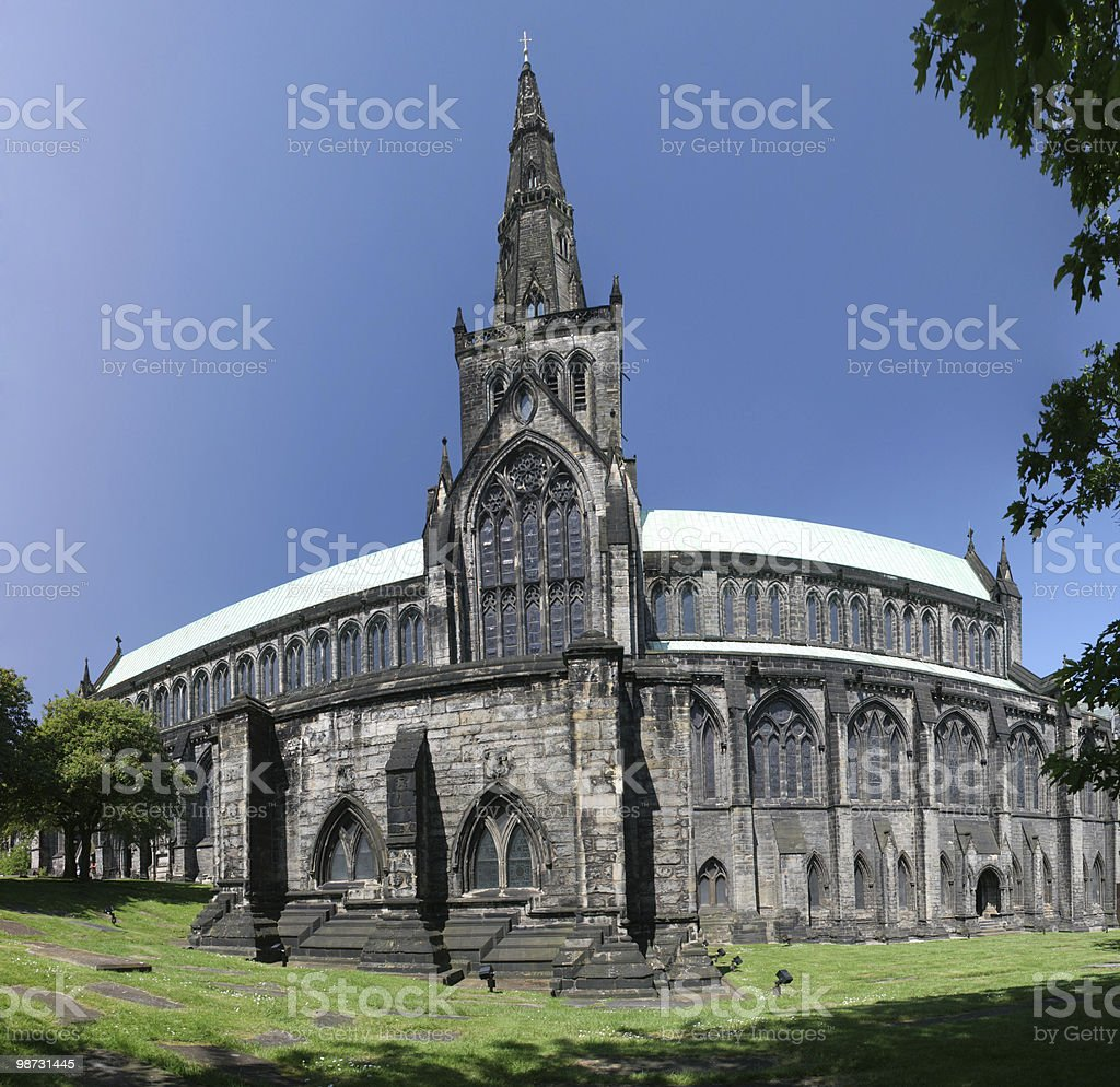 Glasgow Cathedral From The South royalty-free stock photo