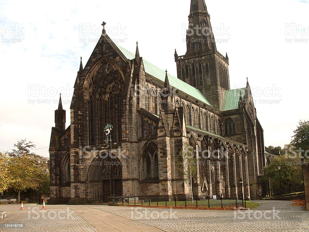 Glasgow Church royalty-free stock photo