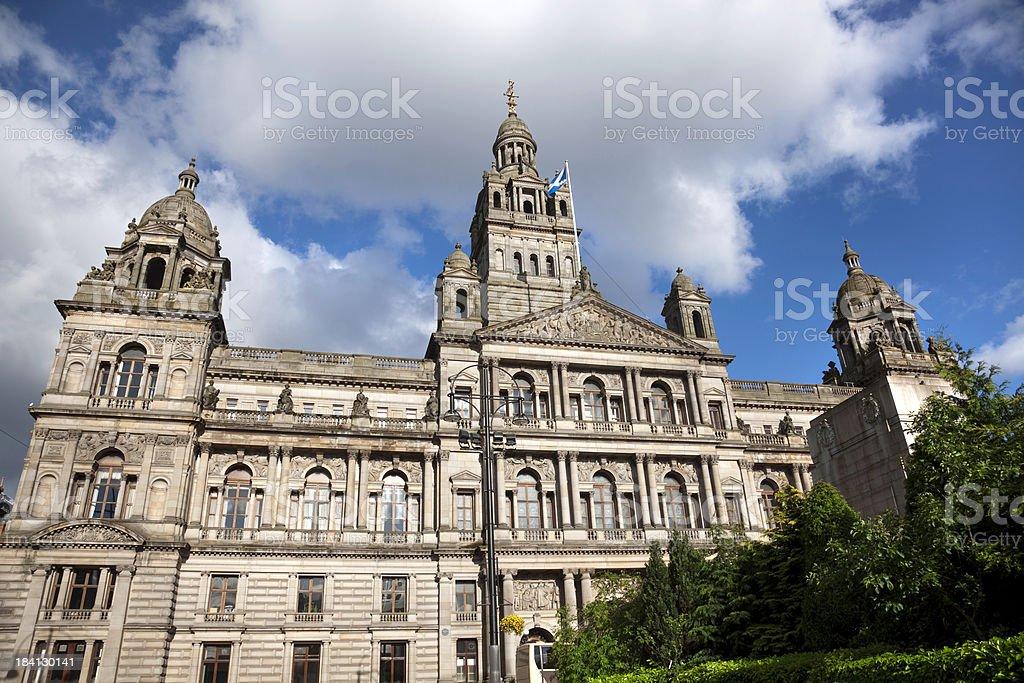 Glasgow City Chambers royalty-free stock photo