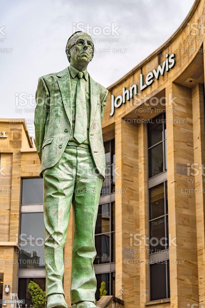 Glasgow Donald Dewar Statue stock photo