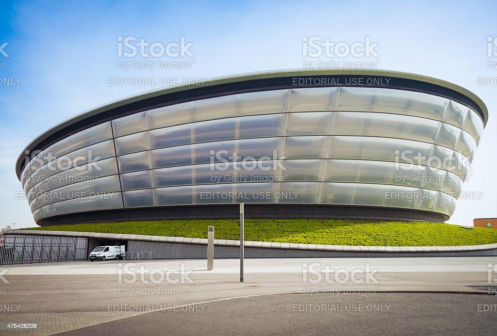 Glasgow Hydro Arena entertainment venue stock photo