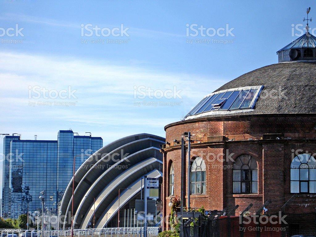 SECC & Glasgow Landmarks stock photo