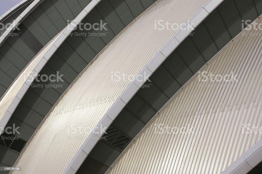 SECC Glasgow stock photo
