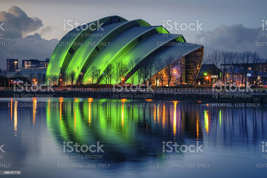 SECC, Glasgow stock photo