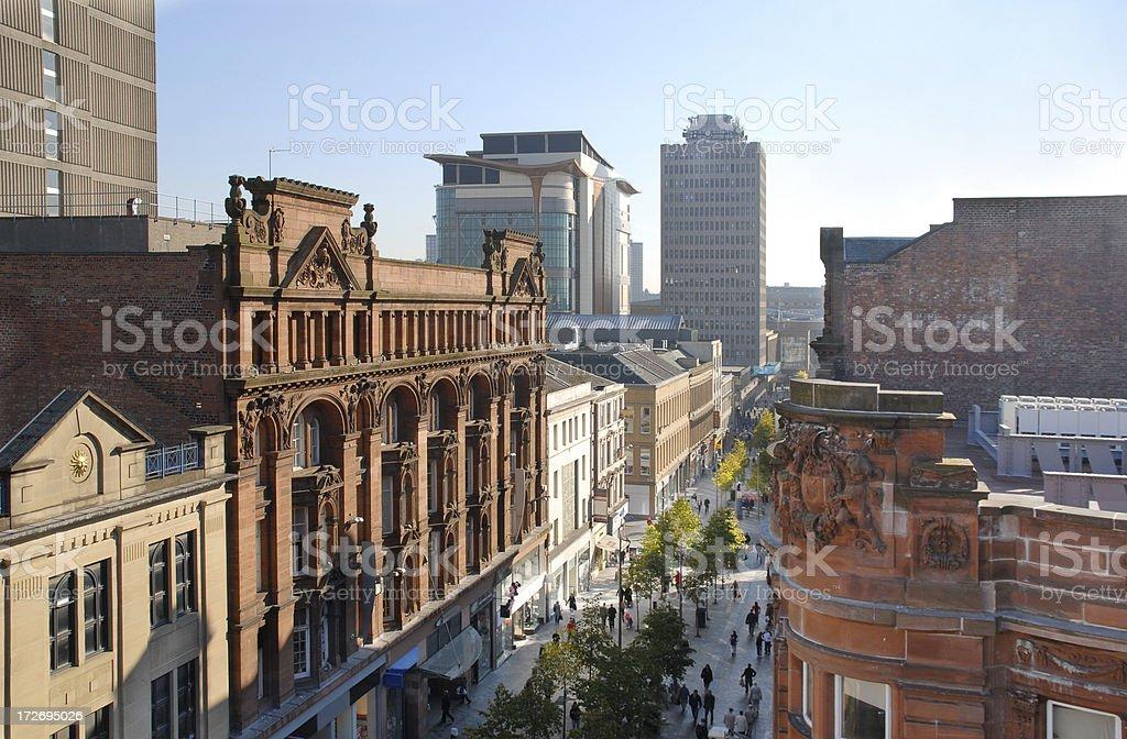 Glasgow Sauchiehall Street 2 stock photo