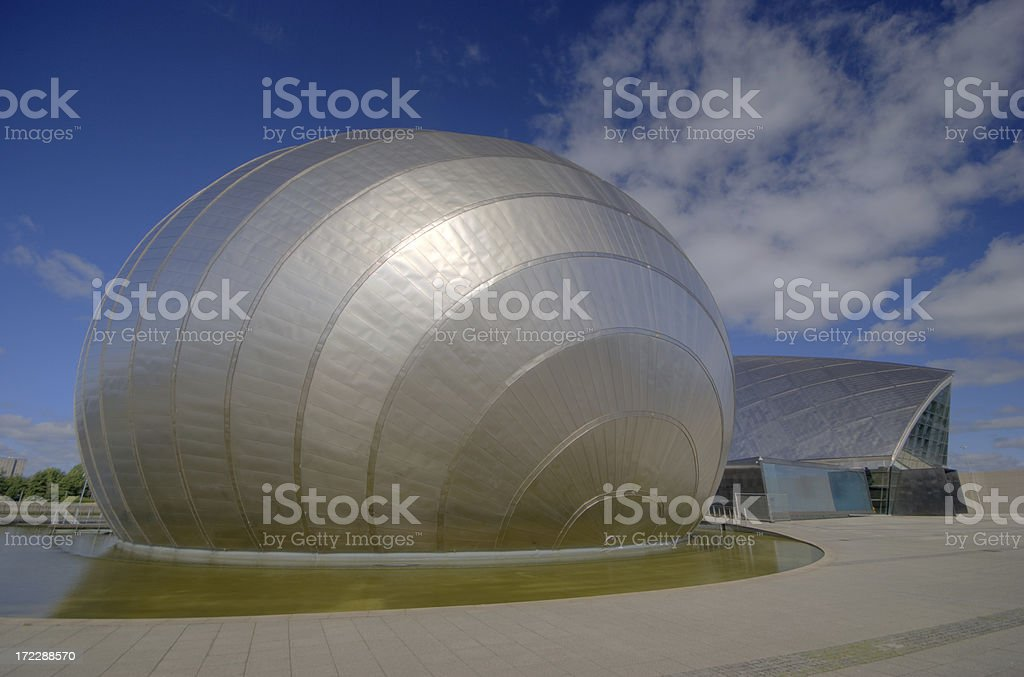 Glasgow Science Centre royalty-free stock photo