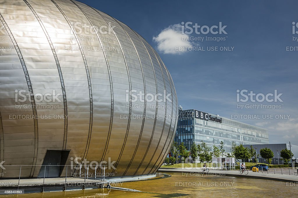 Glasgow Science Centre stock photo