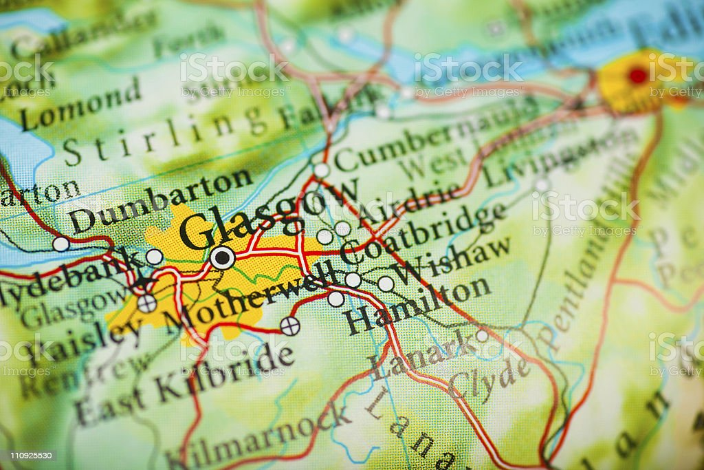 Glasgow, Scotland royalty-free stock photo