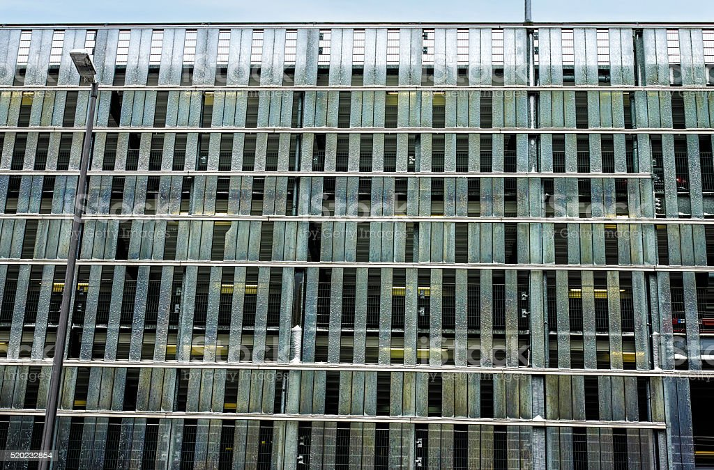 Glass and metal facade royalty-free stock photo