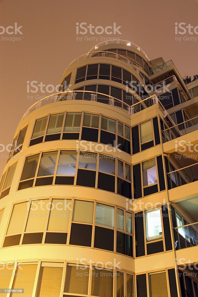 Glass and Mist in Vancouver royalty-free stock photo