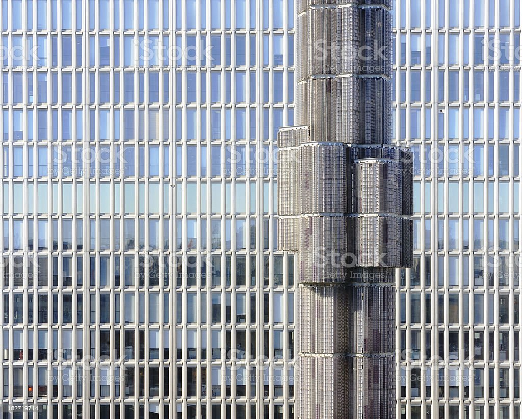 Glass and steel monument royalty-free stock photo