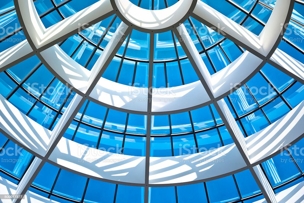 Glass Architecture stock photo