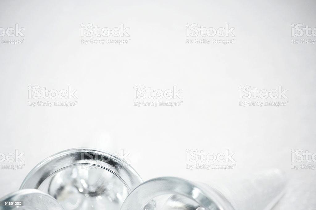 Glass Arcs royalty-free stock photo