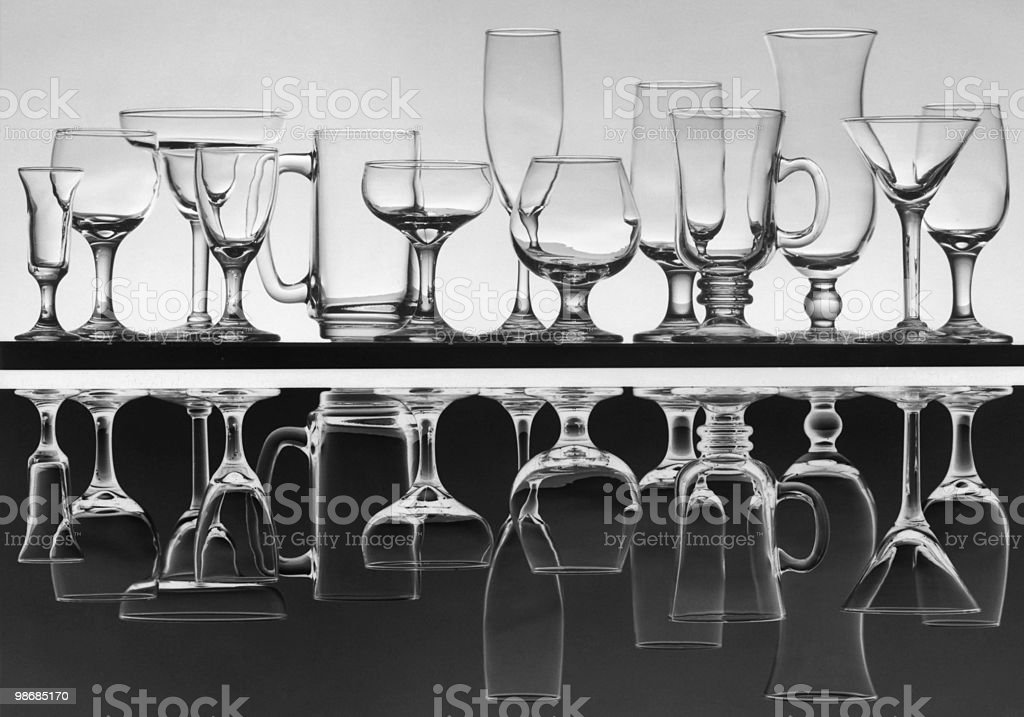 glass array 4 royalty-free stock photo