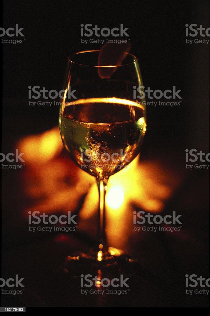 glass at night royalty-free stock photo