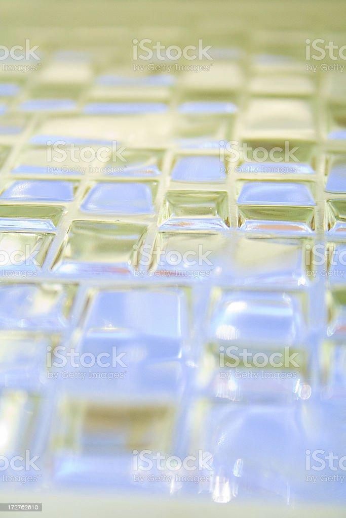 Glass background stock photo