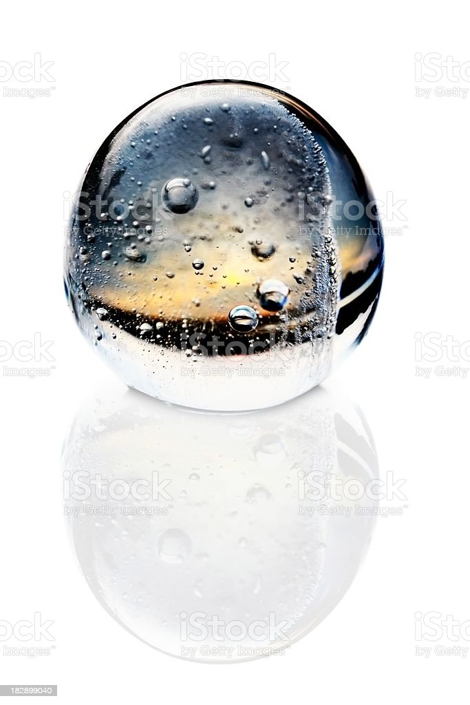 glass ball royalty-free stock photo