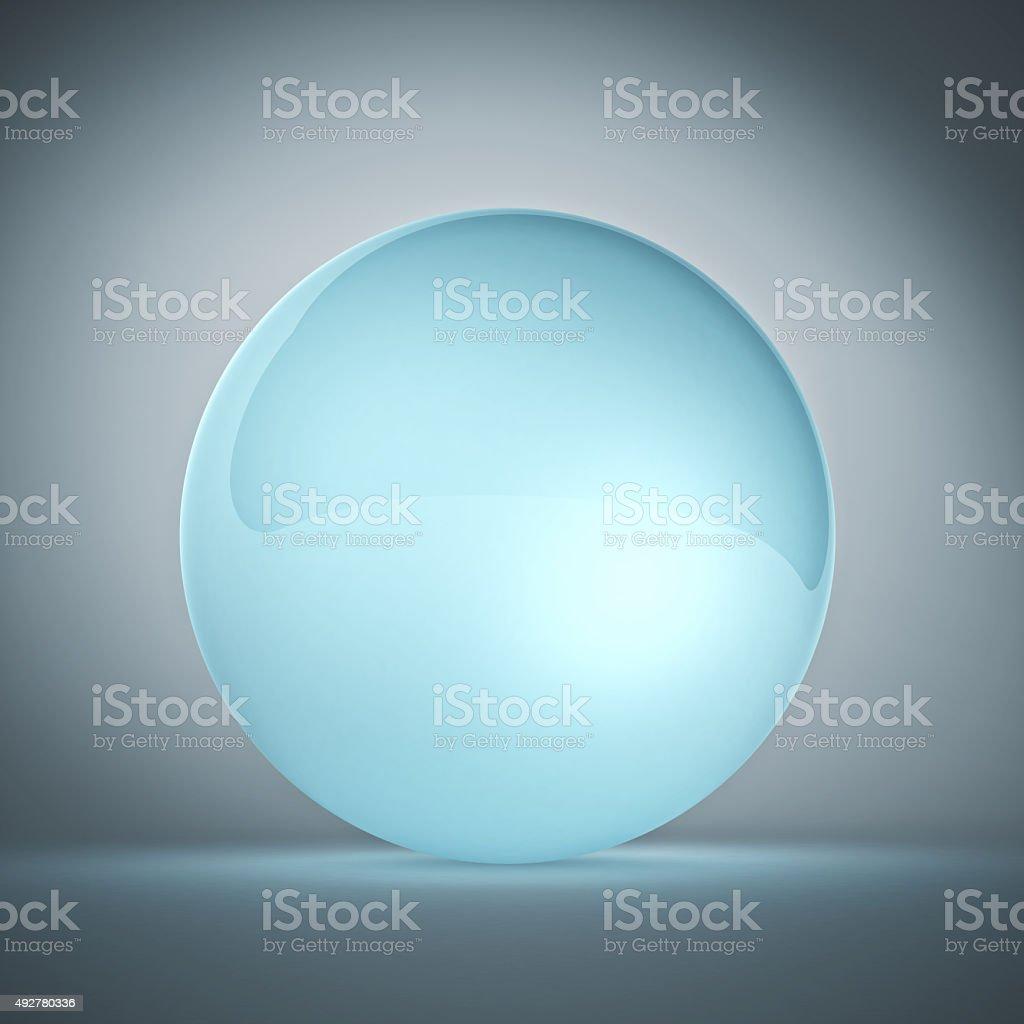 glass ball stock photo
