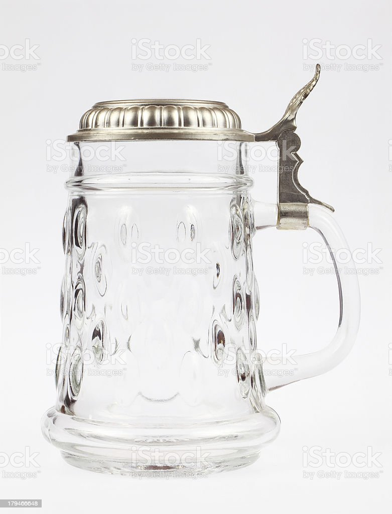 Glass Beer Stein royalty-free stock photo