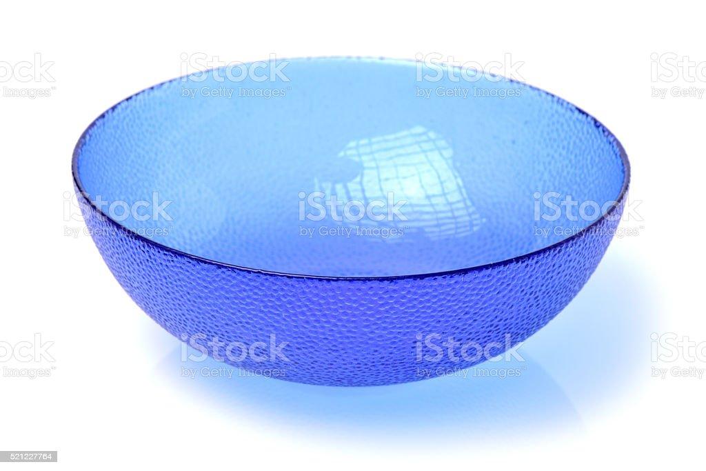 Glass bowl stock photo