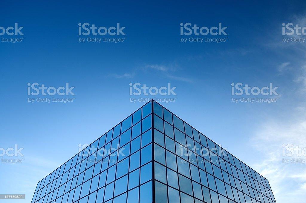 Glass Box stock photo